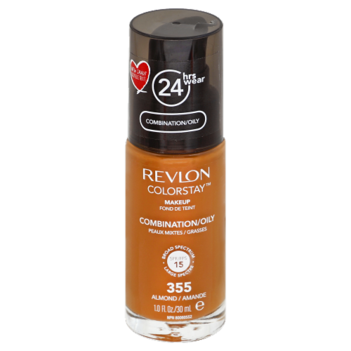 Revlon Colorstay 355 Combination/Oily Almond Foundation Perspective: front