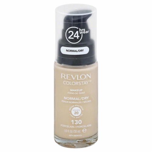 Revlon Colorstay 130 Normal/Dry Porcelain Foundation Perspective: front