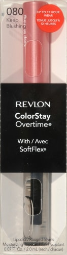 Revlon ColorStay Overtime 080 Keep Blushing Lipcolor Perspective: front