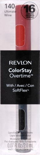 Revlon ColorStay Overtime 140 Ultimate Wine Lipcolor Perspective: front