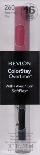 Revlon ColorStay Overtime 260 Perennial Plum Lipcolor Perspective: front