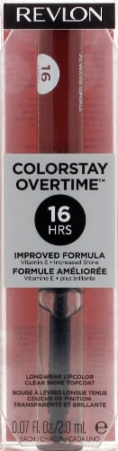 Revlon ColorStay Overtime 380 Always Sienna Lipcolor Perspective: front