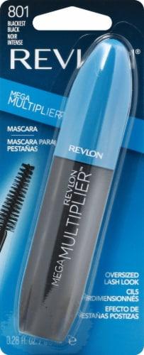 Revlon Mega Multiplier Blackest Black Mascara Perspective: front