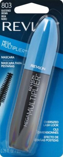 Revlon Mega Multiplier 803 Blackened Brown Mascara Perspective: front