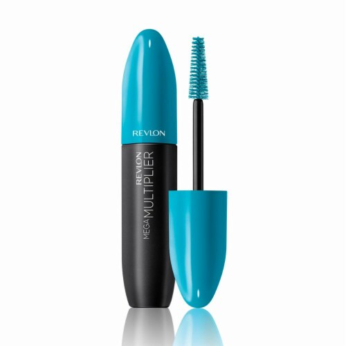 Revlon Mega Multiplier Plum Brown Mascara Perspective: front