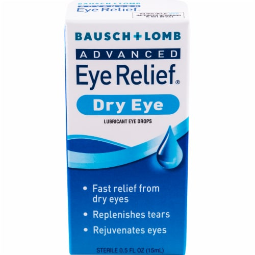 Bausch & Lomb Advanced Dry Eye Rejuvenation Drops Perspective: front