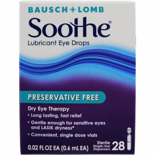 Bausch & Lomb Soothe XP Advanced Dry Eye Therapy Perspective: front