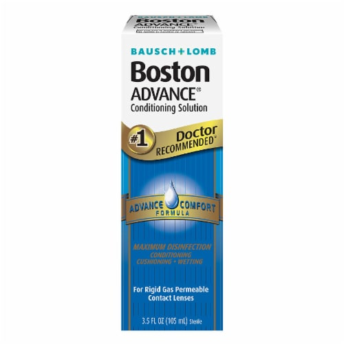 Bausch + Lomb Boston Advance Conditioning Solution Perspective: front