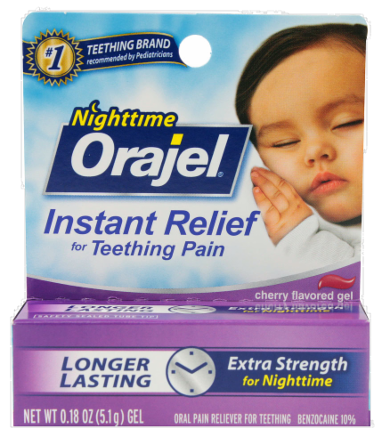 Baby Nighttime Orajel Perspective: front