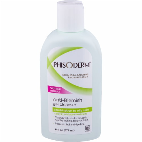 Phisoderm Anti-Blemish Gel Cleanser Perspective: front