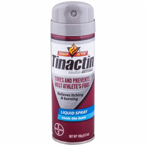 Tinactin Toinaftate Antifungal Liquid Spray Perspective: front