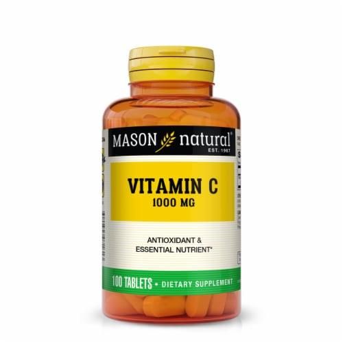 Mason Natural Vitamin C Tablets 1000mg Perspective: front