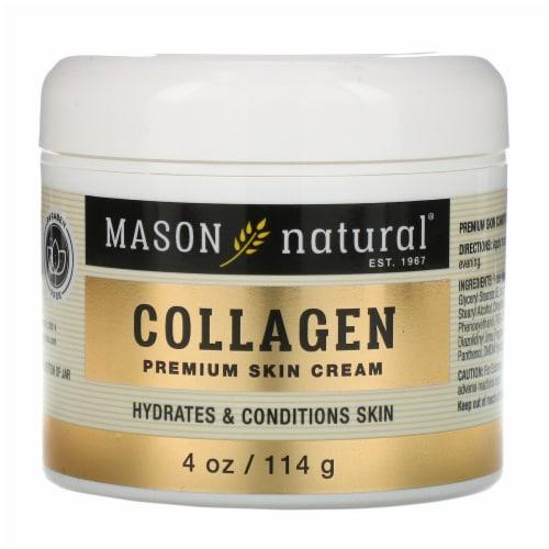 Mason Naturals - Collagen Beauty Cream - 1 Each - 4 OZ Perspective: front