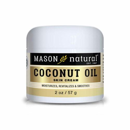 Mason Naturals - Coconut Oil Beauty Cream - 1 Each - 2 OZ Perspective: front