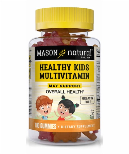 Mason Natural Healthy Kids Kosher Multi Vitamin Gummies Perspective: front