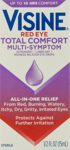 Visine Totality Multi-Symptom Reflief Eye Drops Perspective: front