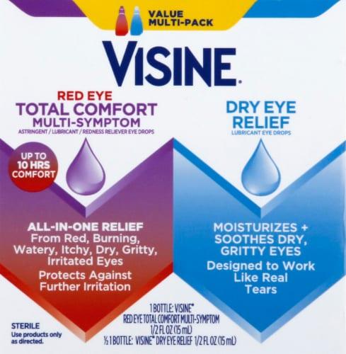 Visine Eye Drops Value Pack Perspective: front