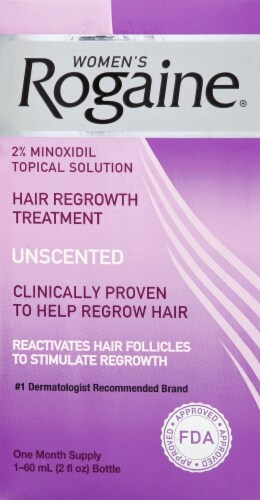 Rogaine Women's Unscented Hair Regrowth Treatment Perspective: front