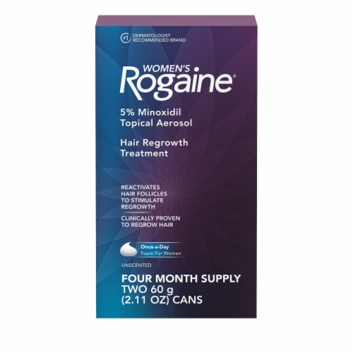 Rogaine Women's Hair Regrowth Treatment Perspective: front