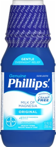 Phillips' Milk of Magnesia Original Liquid Perspective: front