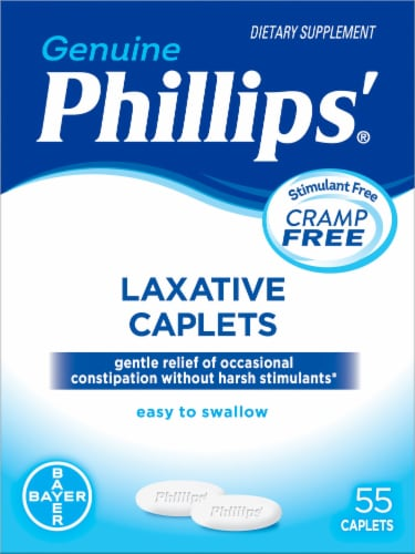 Phillip's Laxative Caplets Perspective: front