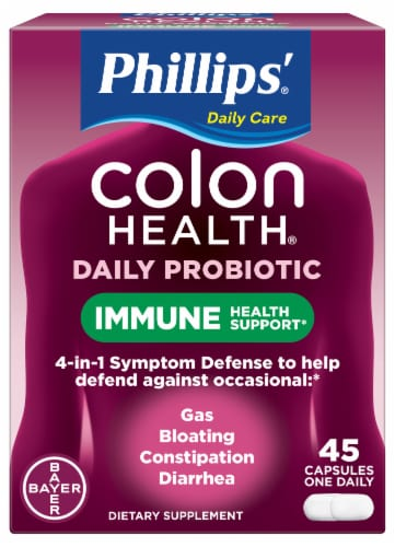 Phillips Colon Health Daily Probiotic Supplement Perspective: front