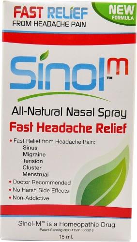 SinolM™ All Natural Nasal Spray Perspective: front