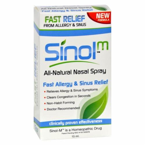 Sinol  Sinol-M™ Allergy and Sinus Relief Perspective: front