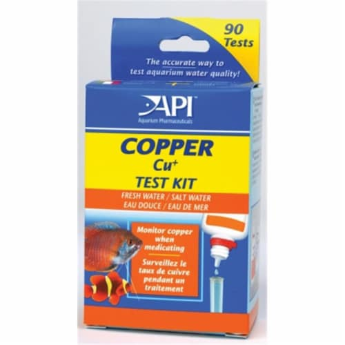 Mars Fishcare North Amer - Copper Test Kit Box - 65L Perspective: front