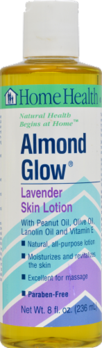Home Health Almond Glow Lavender Skin Lotion Perspective: front