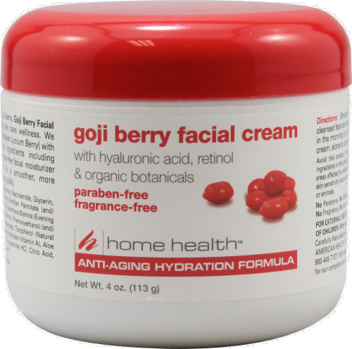 Home Health Goji Berry Facial Cream Perspective: front