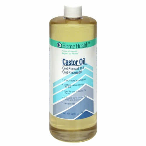 Home Health Castor Oil Perspective: front