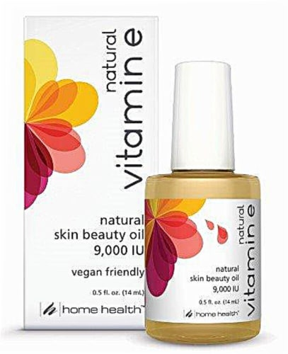 Home Health  Natural Vitamin E Oil Perspective: front