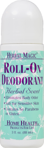 Herbal Magic Herbal Scent Roll-On Deodorant Perspective: front