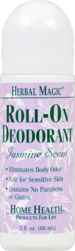 Herbal Magic Jasmine Scent Roll-On Deodorant Perspective: front
