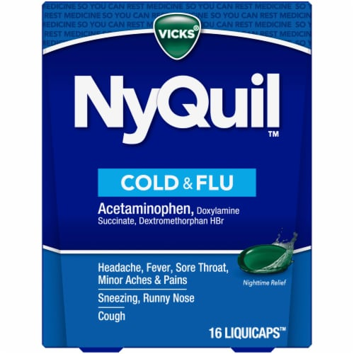 Drink of nyquil bottle a if happens half you what You should