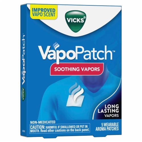 Vicks VapoPatch Aroma Patches Perspective: front
