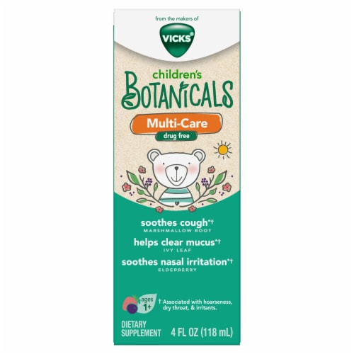 Vicks Children's Botanicals Multi-Care Supplement Perspective: front