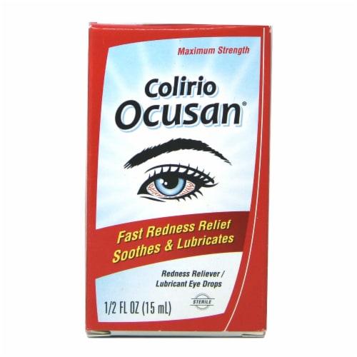 Colirio Ocusan Sterile Eye Drops Perspective: front