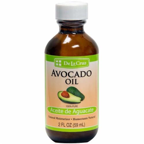 De La Cruz Aceite De Aguacate / Avocado Oil Natural Moisturizer Perspective: front