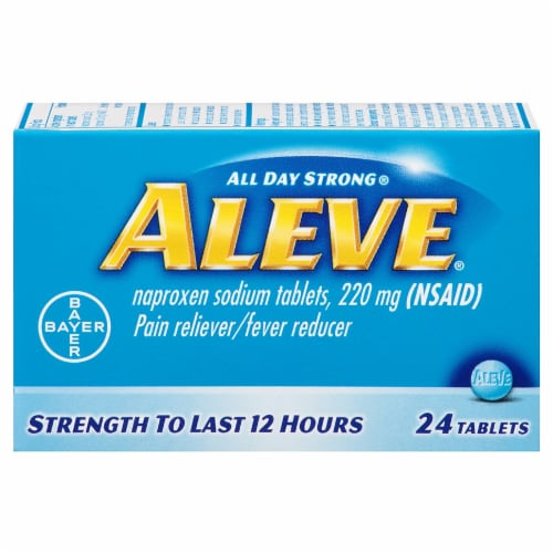 Aleve Tablets Perspective: front