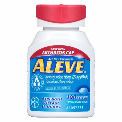 Aleve Arthritis Cap Naproxen Sodium Caplets 220mg Perspective: front