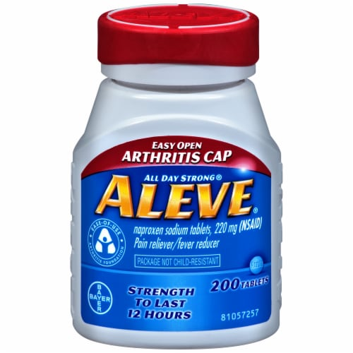 Aleve Arthritis Tablets Perspective: front
