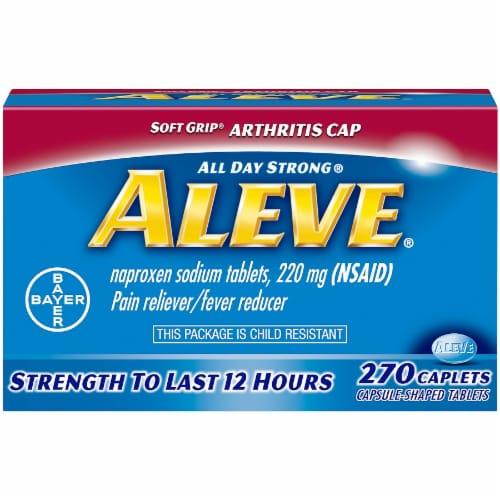 Aleve Arthritis Caplets Perspective: front