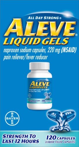 Aleve Liquid Gels 220mg Perspective: front