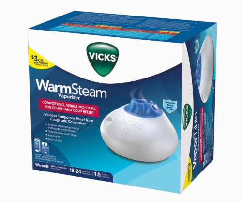 Vicks Warm Steam Vaporizer Perspective: front