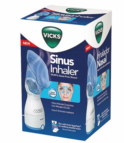 Vicks Sinus Inhaler Personal Steam Inhaler Perspective: front
