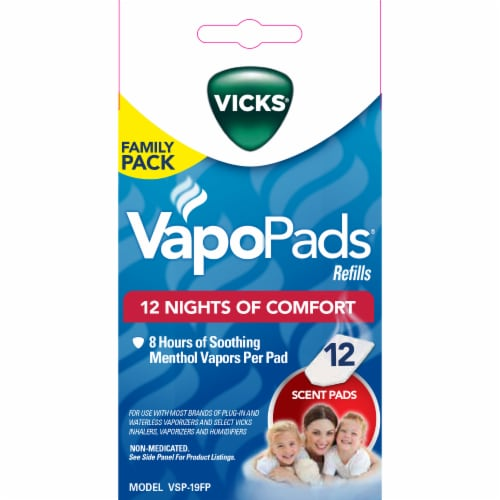 Vicks VapoPad Refill Family Pack Perspective: front