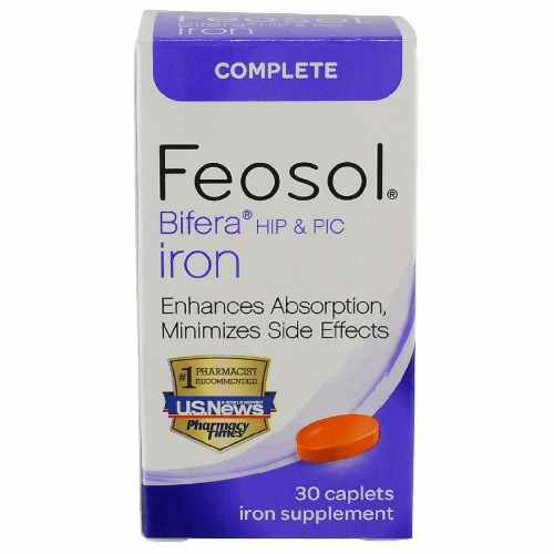 Feosol Bifera Iron Perspective: front