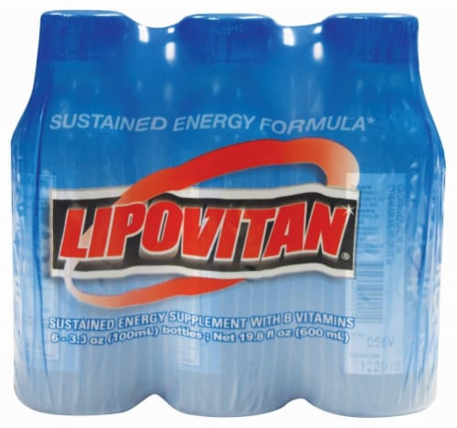 Lipovitan Sustained Energy Formula Drink Perspective: front